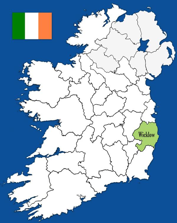 Wicklow Irland Den Gronne O